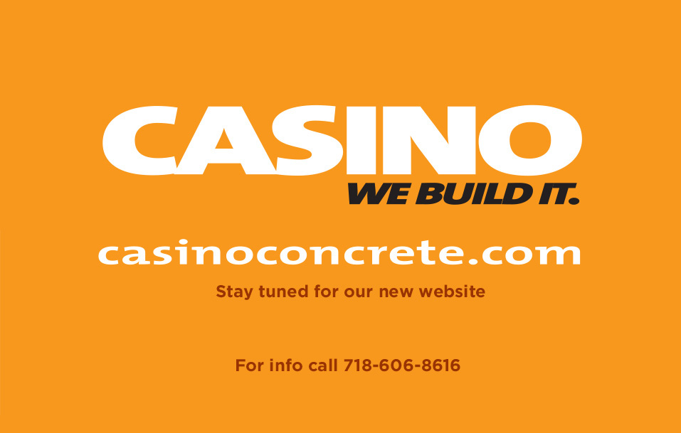 Casino Concrete - We build it.